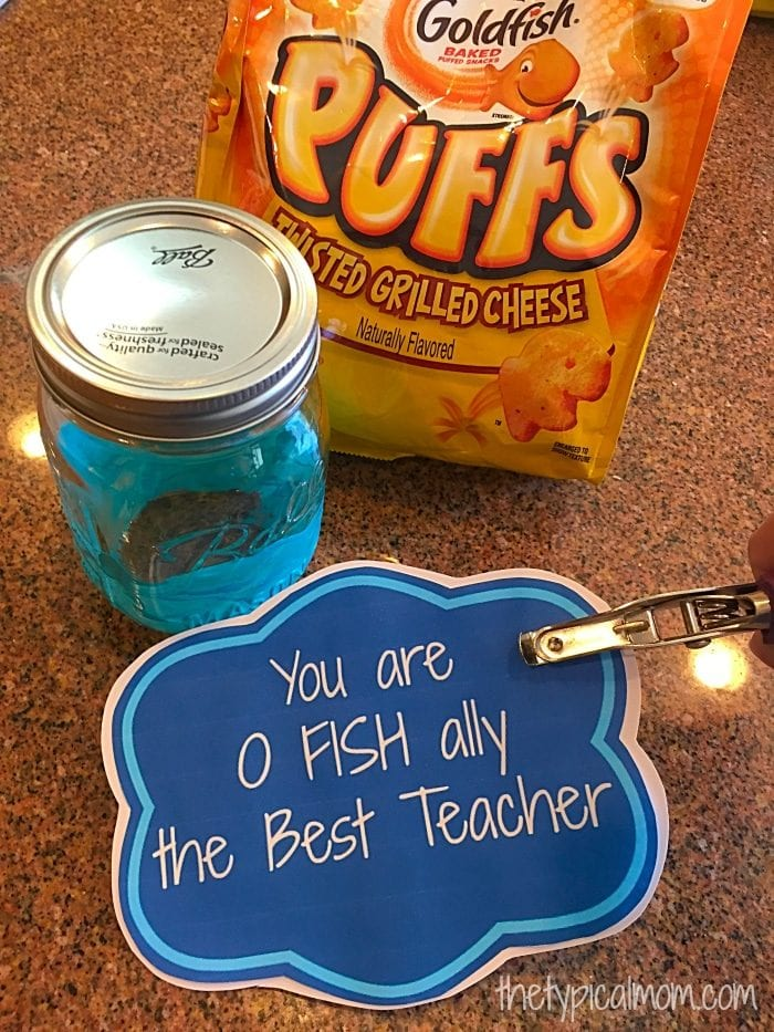 Homemade Teacher gift ideas.