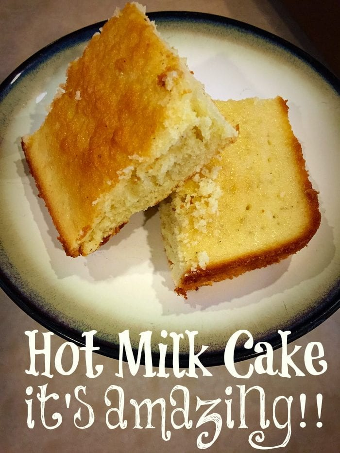 Recipe For Hot Milk Cake The Typical Mom
