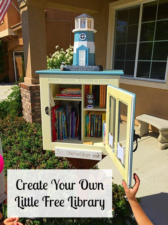 Little free library the typical mom for Build your house online