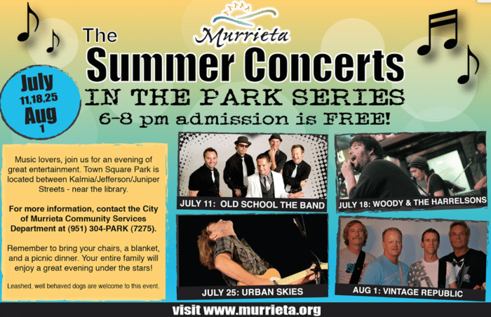 summer concerts murrieta