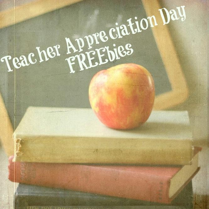 Teacher Appreciation Freebies * The Typical Mom