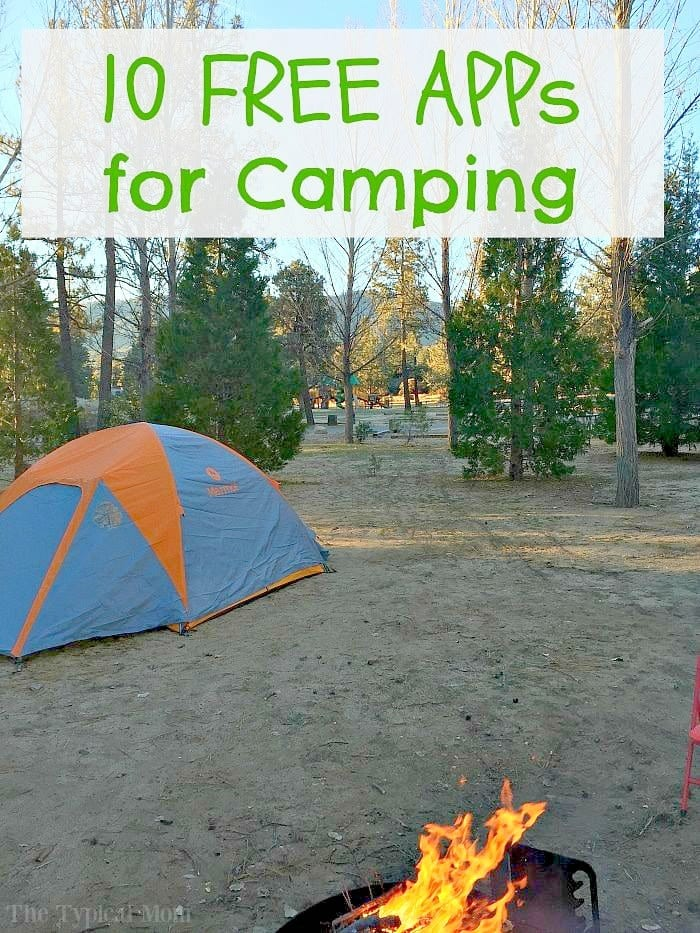 Top 10 Camping APPs