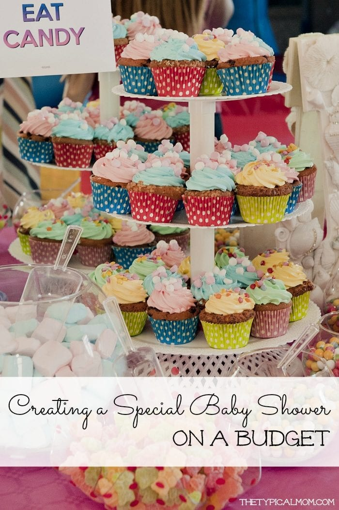 Ideas on creating a special baby shower to remember, on a budget.