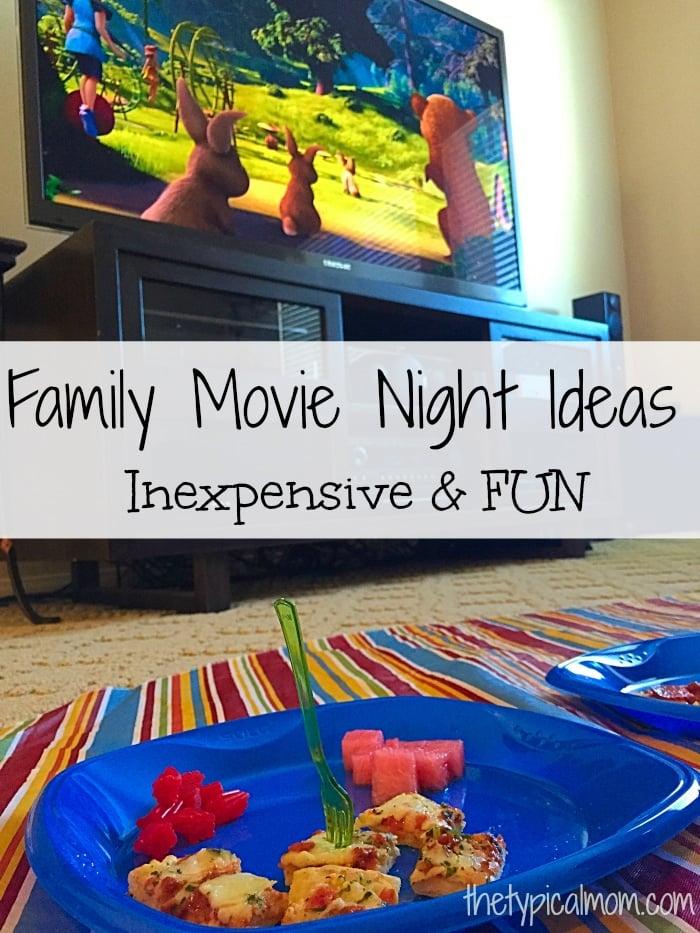 family movie night ideas  u00b7 the typical mom