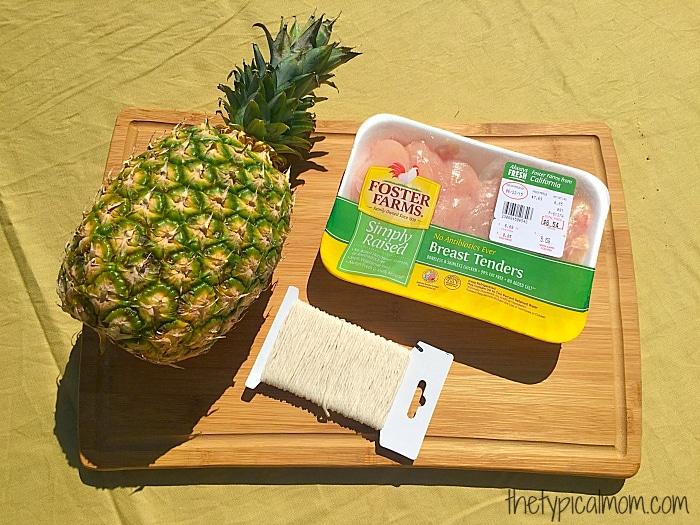 BBQ pineapple chicken recipe