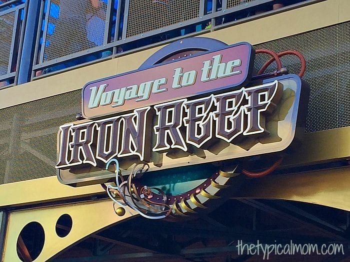 Voyage to the iron reef at Knott's