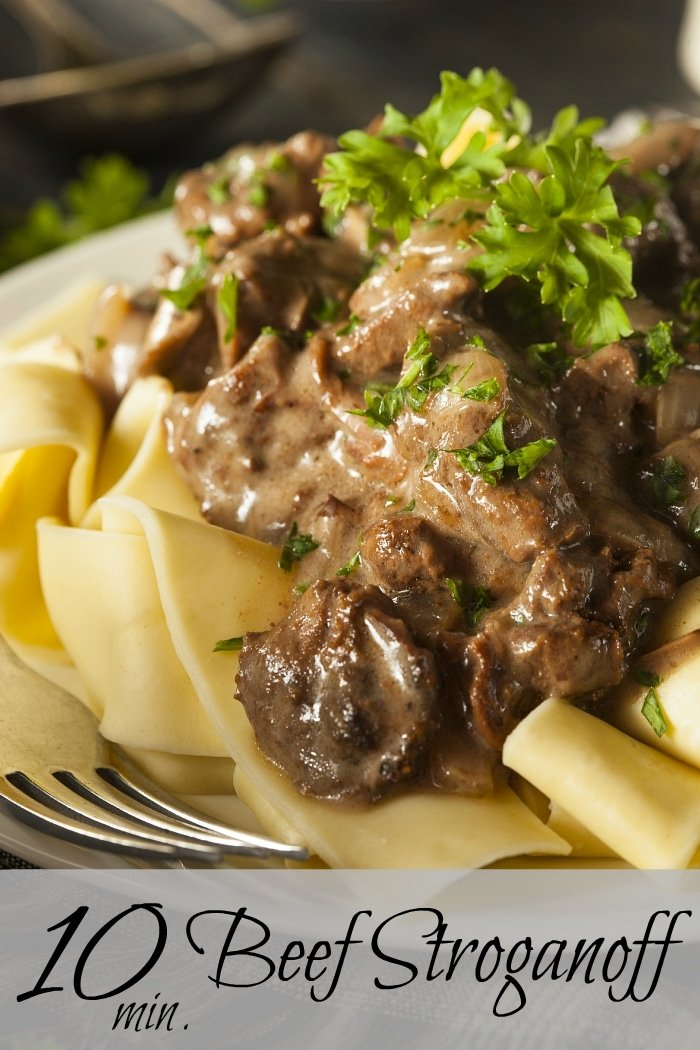 how to cook beef stroganoff