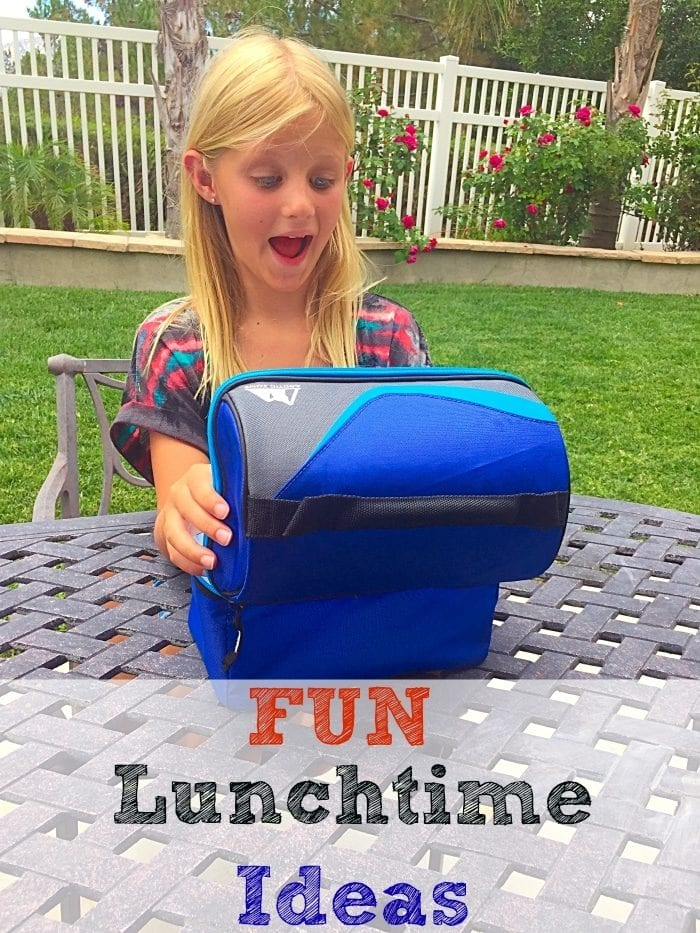 Fun lunchtime ideas for kids. Easy things to do to incorporate vegetables into kids' lunches to make it fun.