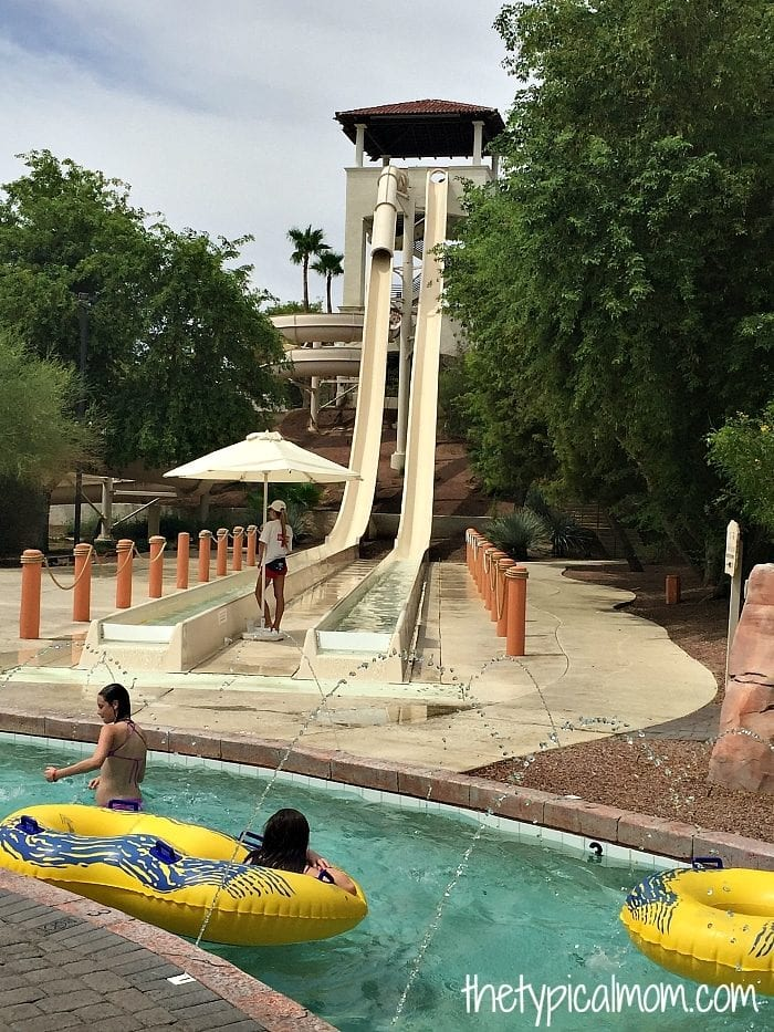 arizona grand resort water park
