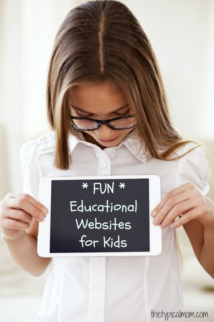 Free educational websites for kids