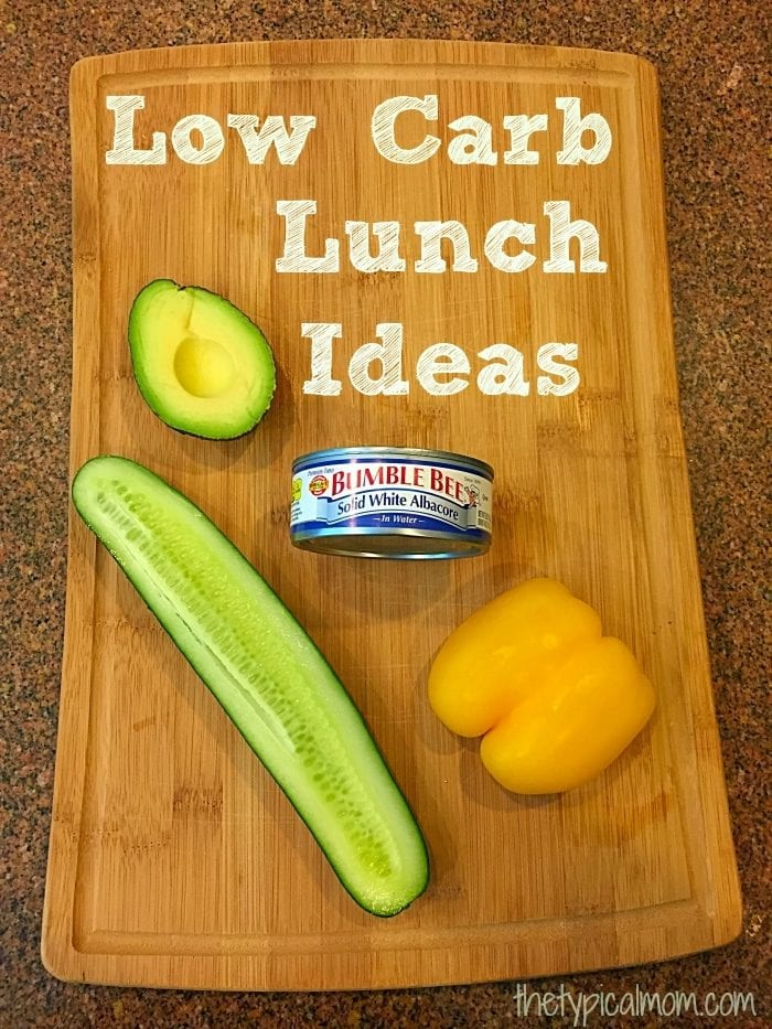 low carb lunches