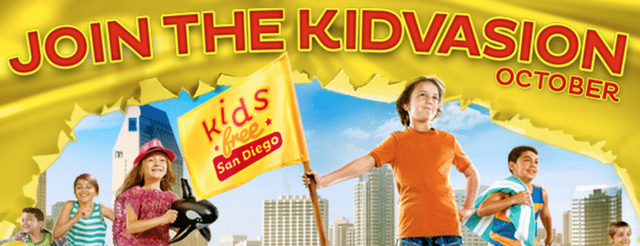 san diego kids free october