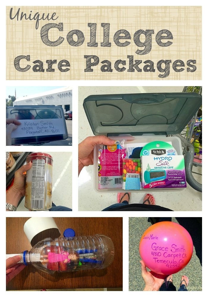 Care package ideas