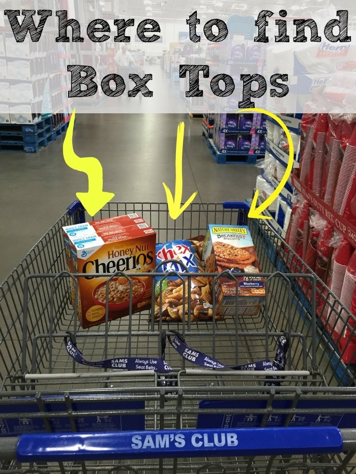 Where To Find Box Tops * The Typical Mom
