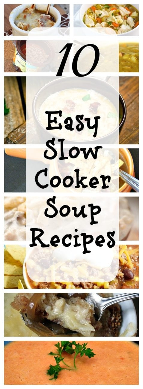 Crockpot soup recipes the typical mom for Winter soup recipes easy
