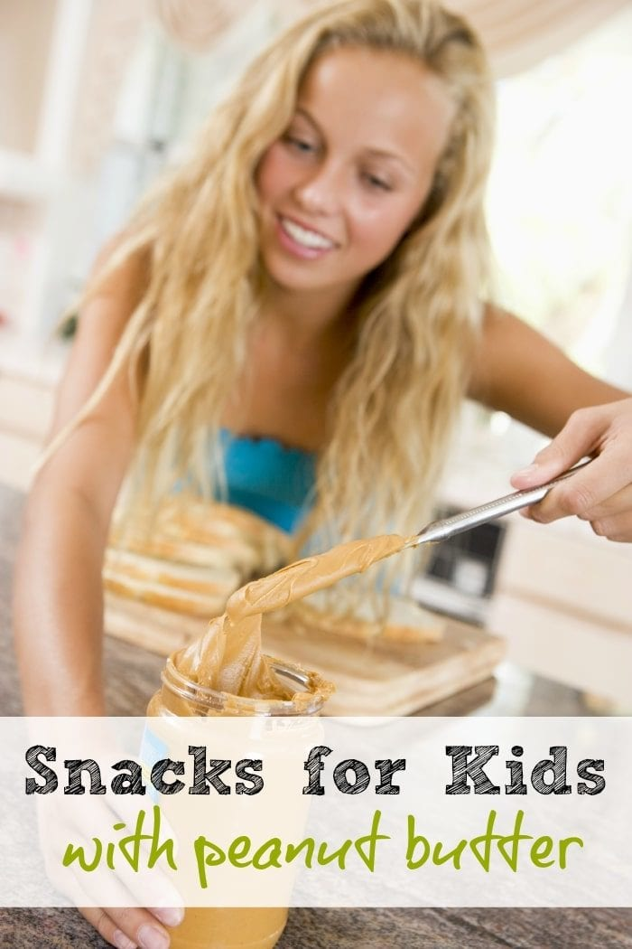 5 fun after School snack ideas for kids using peanut butter! #peanutbutterhappy #ad @jif