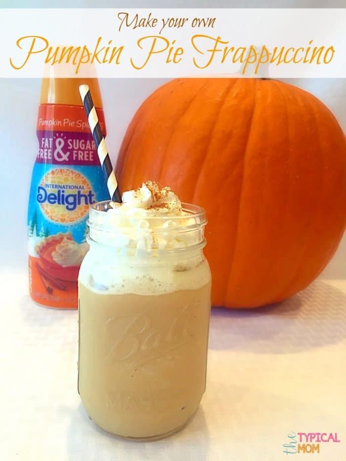 Pumpkin Spice Frappuccino Recipe 183 The Typical Mom