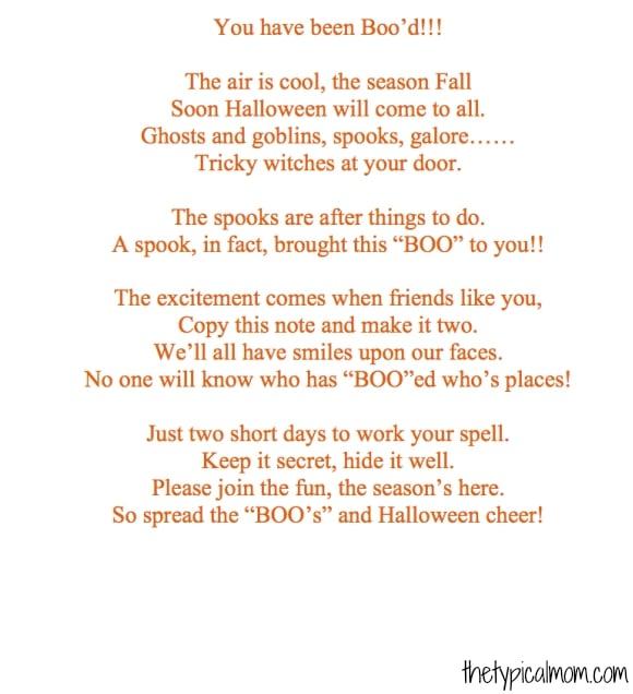 Free printable boo sign for Halloween.