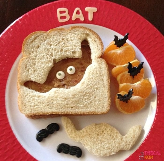 Halloween lunch and party snack ideas.