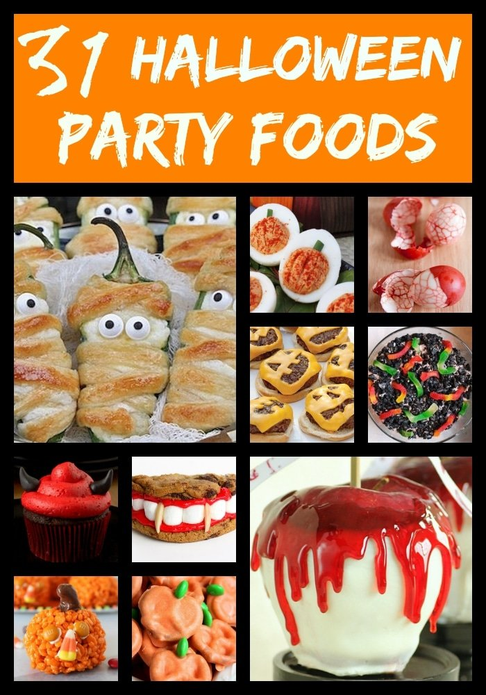 Halloween recipes for kids the typical mom for Children s halloween party food ideas