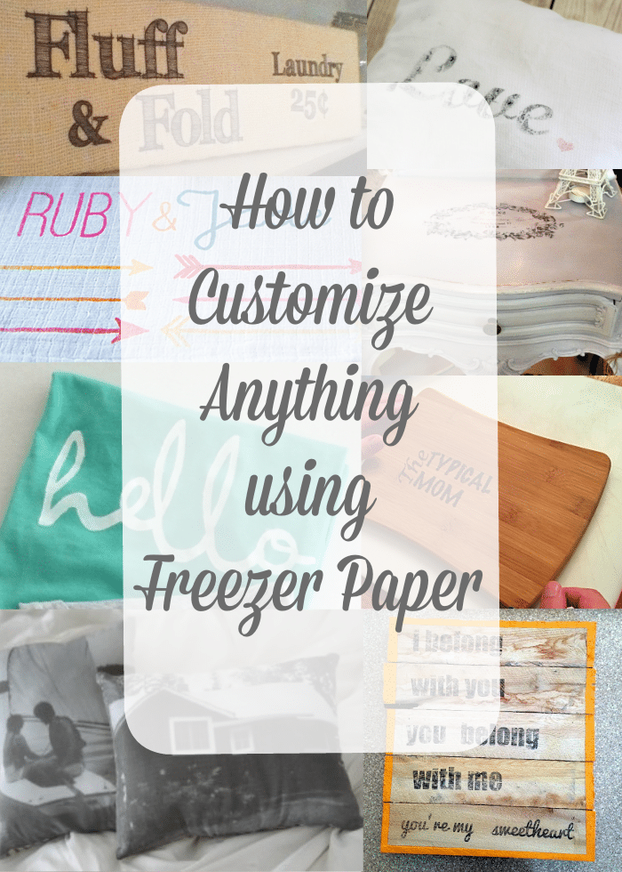 How To Print Using Freezer Paper The Typical Mom