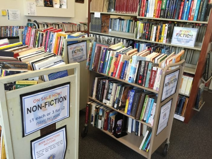 Temecula library bookstore