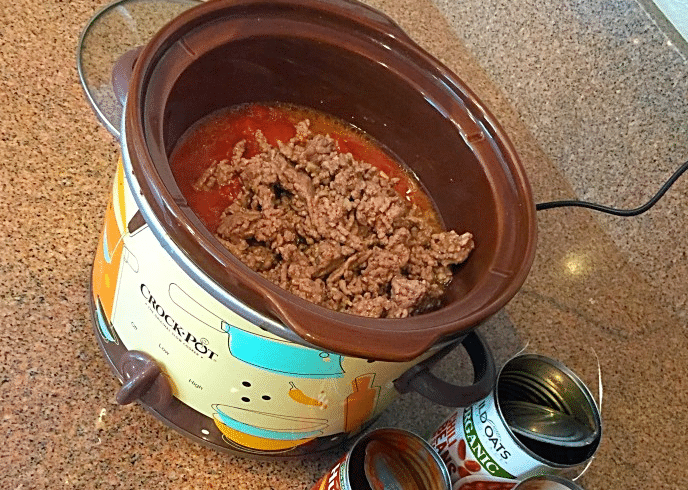 5 ingredient crockpot chili recipe