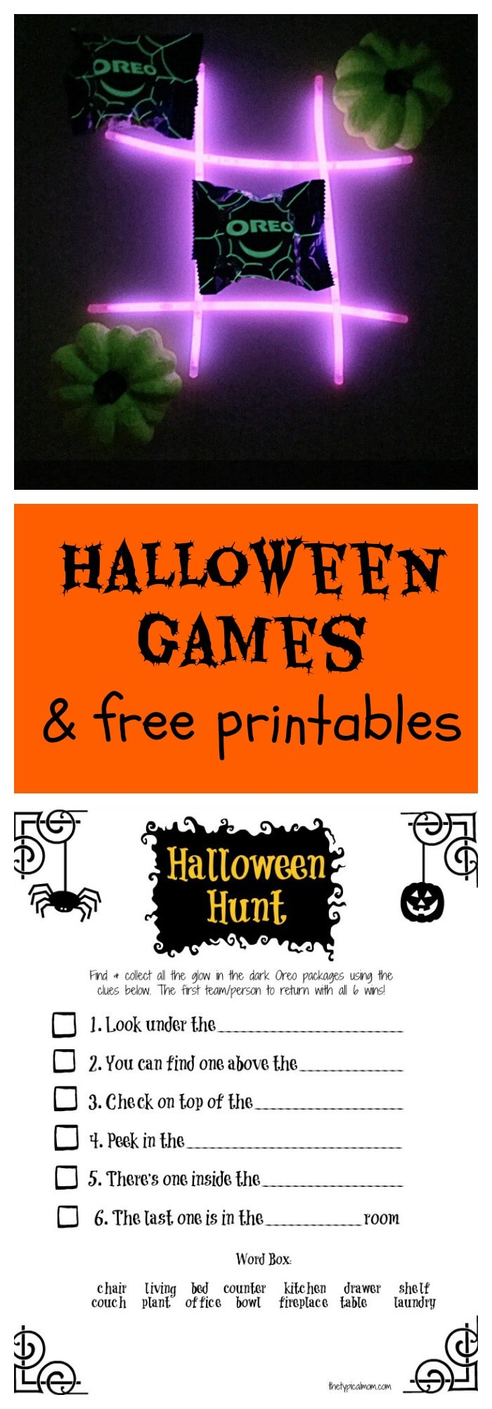 photograph regarding Free Printable Halloween Games for Adults called Halloween Occasion Plans for Little ones · The Standard Mother