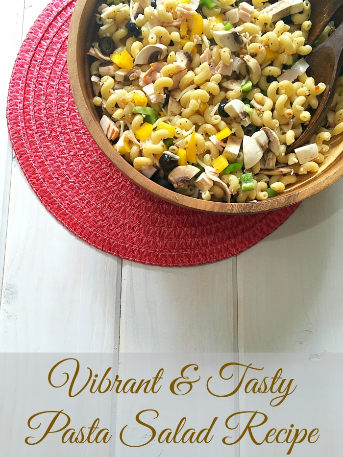 Cold pasta salad recipe · The Typical Mom