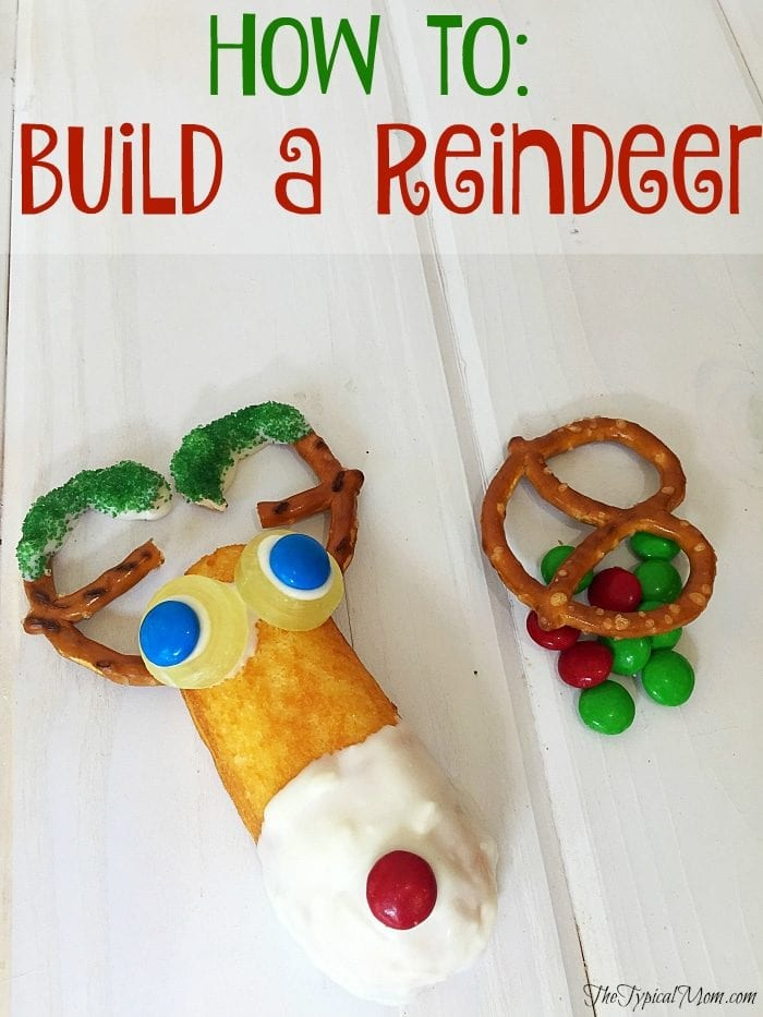 How to build a reindeer