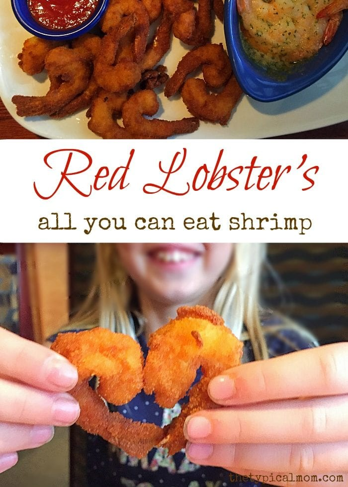 Red Lobster's all you can eat shrimp. #endlessreasonscontest ad