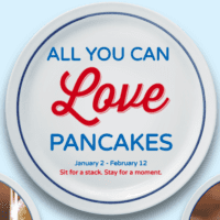 All you can eat Pancakes at IHOP