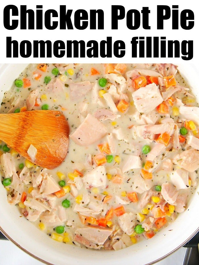 Simple Chicken Pot Pie Recipe · The