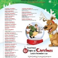 25 Days of Christmas movie schedule