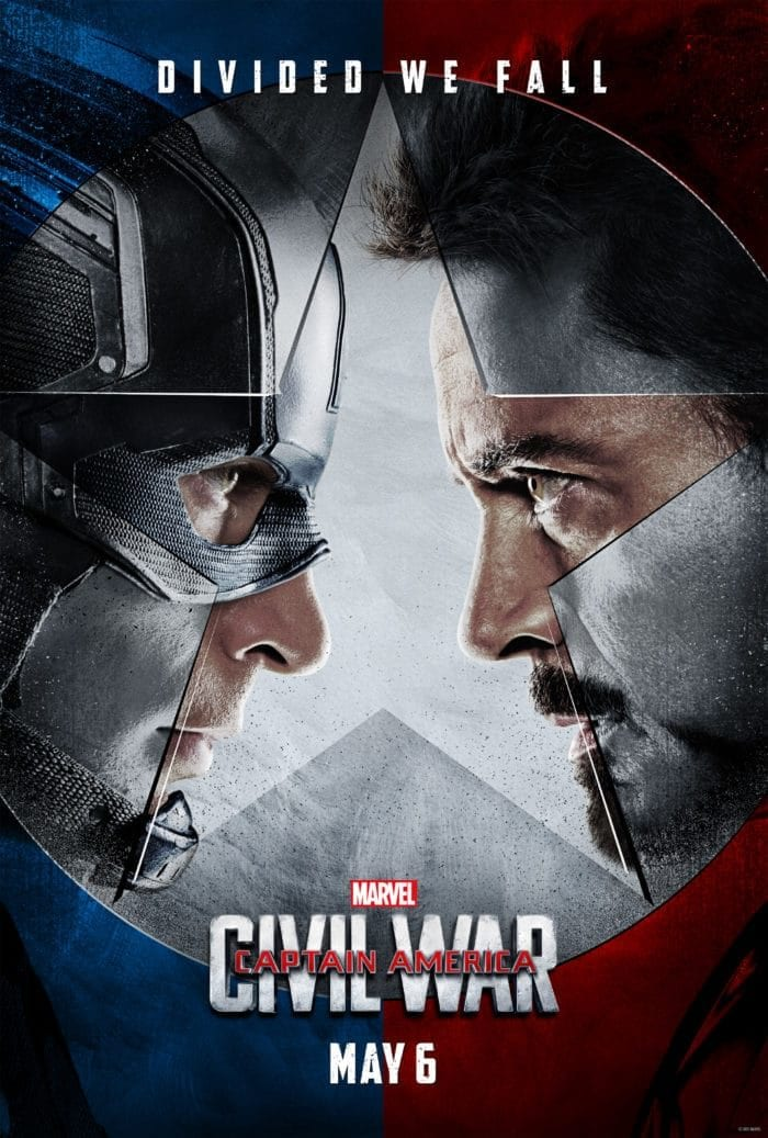 Captain America trailer and poster