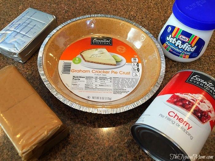 Cherry cheesecake dip ingredients