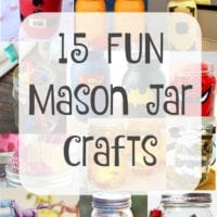 Crafts using mason jars