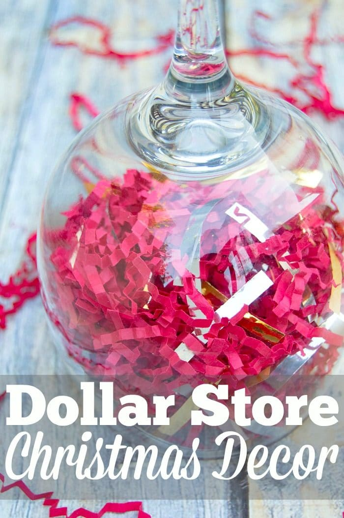 my favorite dollar store christmas decorations that are cheap and easy to make and a great craft for kids too do it yourself holiday home decor for less