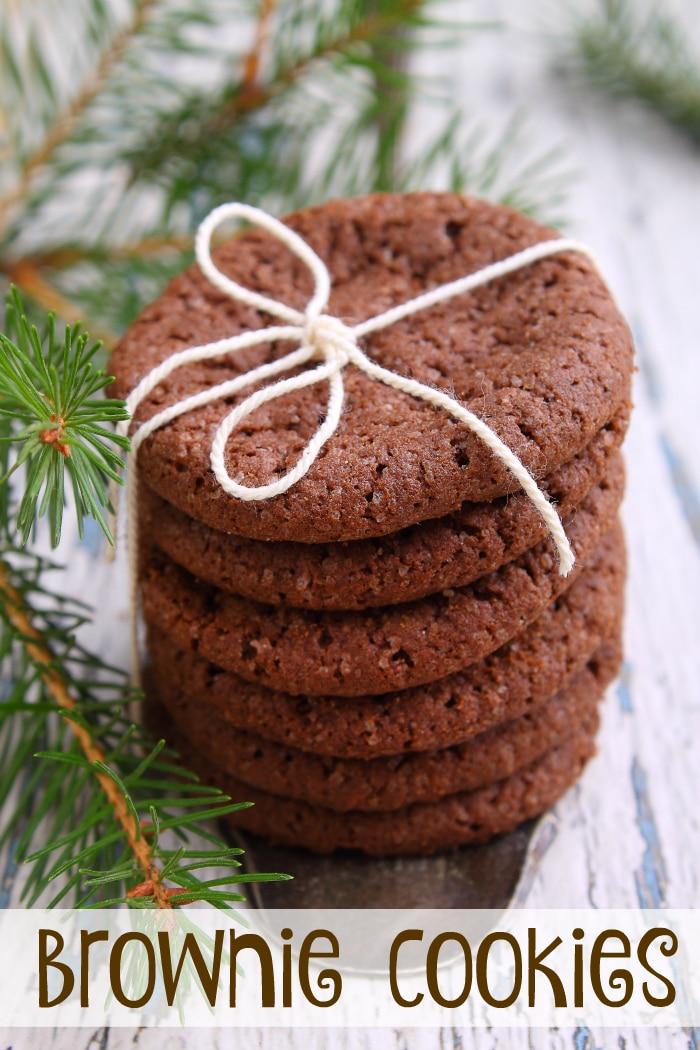 brownie cookies  u00b7 the typical mom