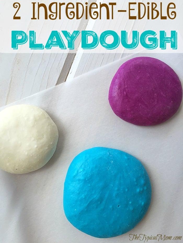Marshmallow Edible Playdough Recipe 183 The Typical Mom