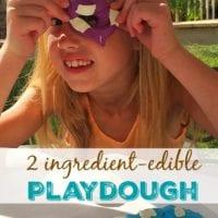 Marshmallow Edible Playdough Recipe