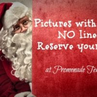 Pictures with Santa at Promenade Temecula