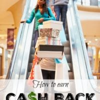 How to earn cash back when shopping