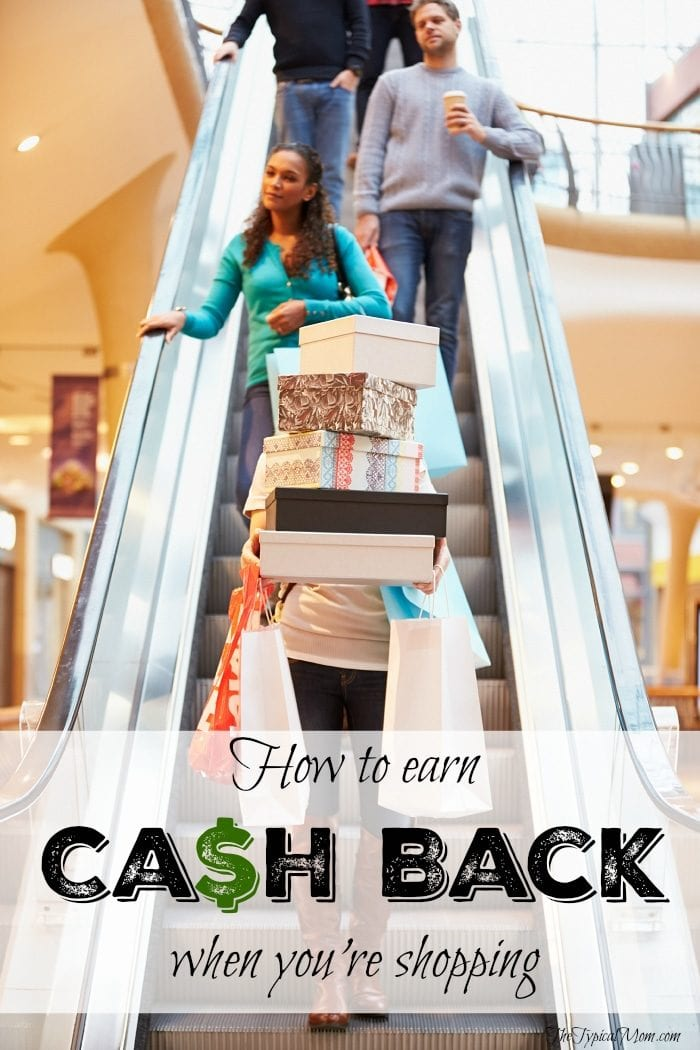 EASY way to earn CASH back when you're shopping at stores and online this holiday season and year round! AD