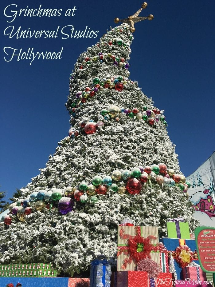 universal studios hollywood - When Does Universal Studios Hollywood Decorate For Christmas