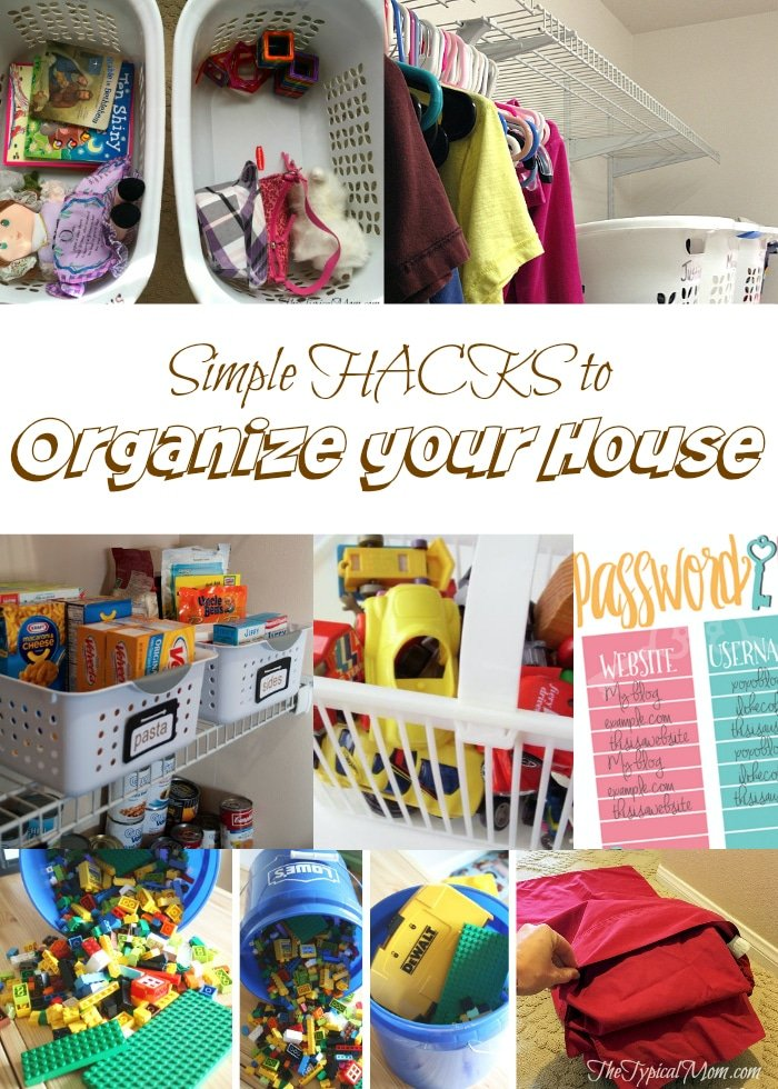 How to organize your house the typical mom for How to organize your home