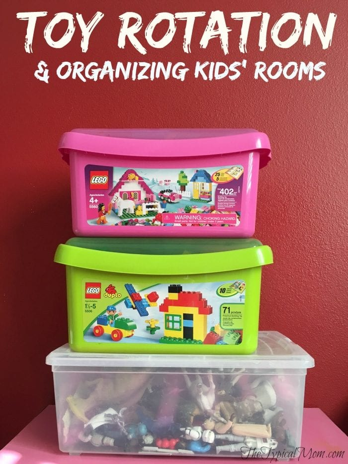 organizing kids rooms