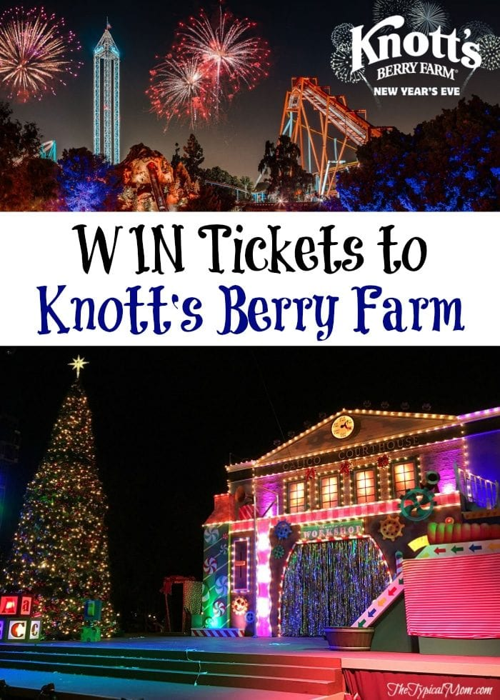Knott\'s Berry Farm New Year\'s Eve + Deal · The Typical Mom