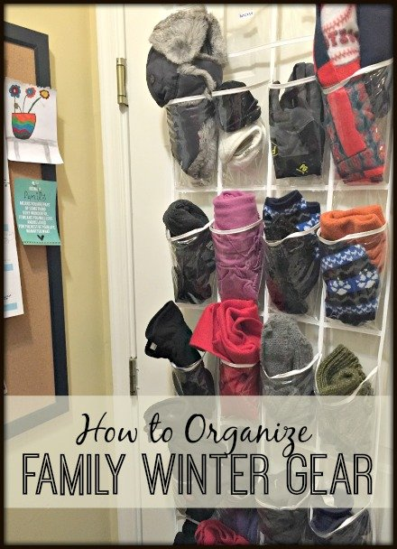 How to organize winter clothing
