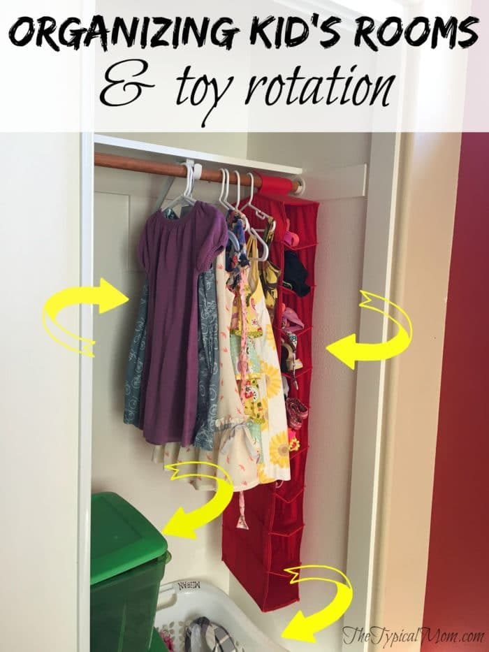 Organizing kids rooms and why you should rotate their toys a few times a year!